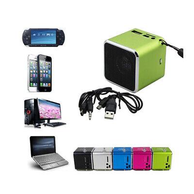MP3 Player Mini-Lautspr Elektronik LCD Speaker Radio Lautsprecher USB Musik Box (Mini Radio)