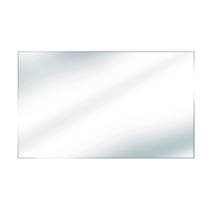 """48""""x36""""  tempered glass panel for deck railing"""