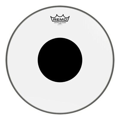 Black Dot On Top 10 Diameter Remo Controlled Sound Clear