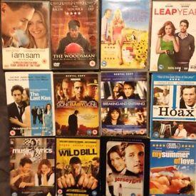 12 Romance/ Drama DVD bundle. Loads of big named actors