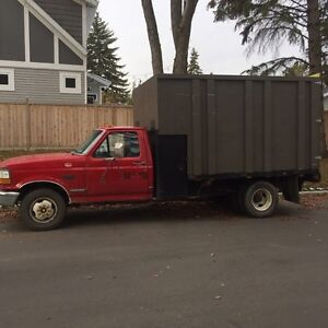 1997 Ford F-350 XL Flatbed with Box
