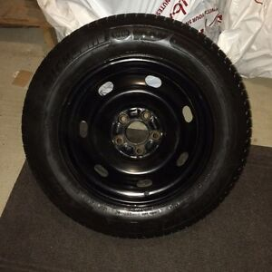 Michelin X-ICE 215/60R16 with Genuine Ford Steel Wheels