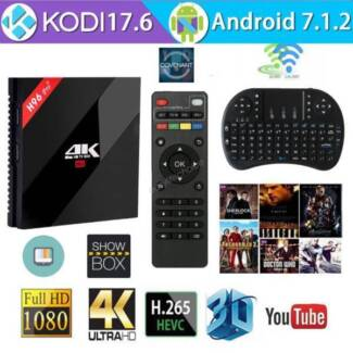 2018 AUGUST Release Version Android Smart TV Box H96 Pro Plus 4K Rowville Knox Area Preview