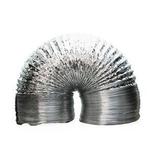 Aluminum-Ducting-12-Inch-x-25-Feet-Air-Ventilation-Clamps-Included