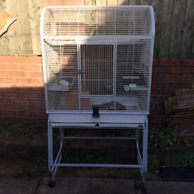 Large animal/bird cage on stand