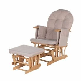 Habebe Nursing Rocking Chair with footstool