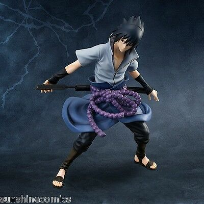 Naruto Shippuuden Uchiha Sasuke G.E.M. MegaHouse 1st Release NEW SEALED