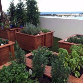 EcoWise Planters - Rustic Reclaimed Timber Raised Garden Beds