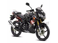 *Brand New* 66 plate Lexmoto XTRS Sports 125 (CBR) Warranty, Delivery, Part-ex