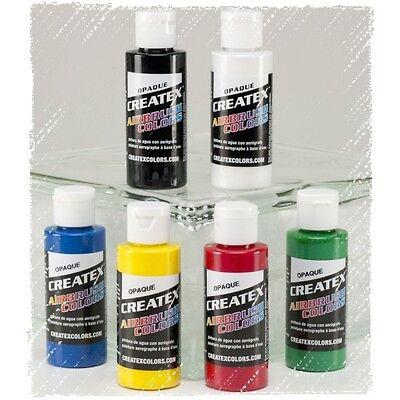 Createx Airbrush Color   6 x 60ml    Opak Set #115299