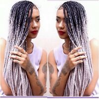 TRESSES AFRICAINE , CROCHET braid, pose de cils
