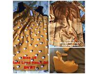 MUSTARD DRESS BNWT