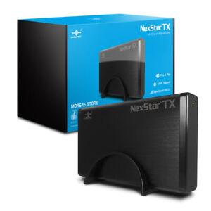 """VANTEC NEXSTAR TX 3.5"""" USB 3.0 HARD DRIVE ENCLOSURE"""
