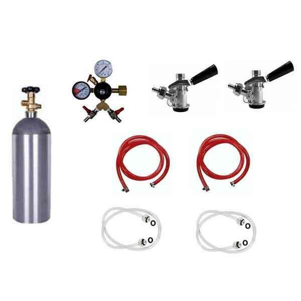 """Jockey Box Dispensing System - 2 Tap, Commercial Keg (Sanke """"D"""")"""