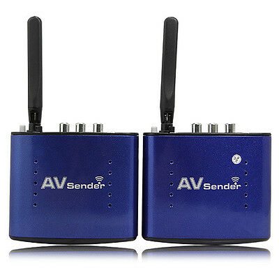 Pat-630 5.8GHZ Wireless AV Sender Audio Video SD TV Transmitter & Receiver 200m