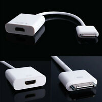 Adaptateur HDMI pour iPad 2, 3 iPhone 4, 4S Adapter Cable
