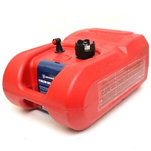 Attwood Boat Fuel Gas Tank 8806iG2 | 6 Gallon w/ Gauge