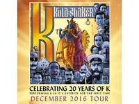2 x Kula Shaker tickets - Bristol 13th Dec'