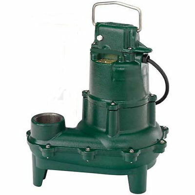 Zoeller E264-0004 - 410 Hp Cast Iron Sewage Pump Non-automatic 230v