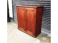 Antique pine cupboard/wardrobe/press