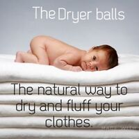 The Dryer Balls are in Amherst!