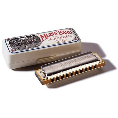 Hohner 1896 Marine Band Diatonic Harmonica - Key of C on Rummage