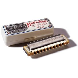 Hohner 1896 Marine Band Diatonic Harmonica - Key of C