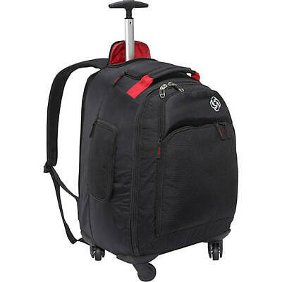 """Samsonite MVS Spinner Backpack - 20"""" - Black"""