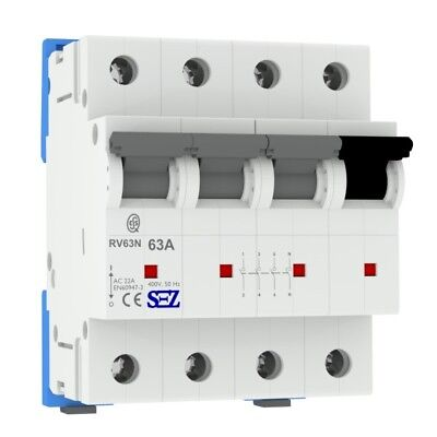 Sez Main Switch 63a 4p Switch Performance Separator 3pn Rv63 5598