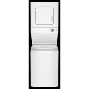 "Whirlpool 24"" Stacked Laundry Center SAVE $300.00"