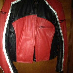 Ladies Leather Joe Rocket Jacket