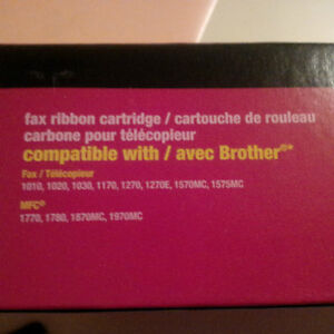 New - Fax ribbon compatible w/ Brother PC201 and other types London Ontario image 2