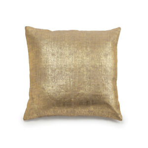 Large Gold Structube Pillow