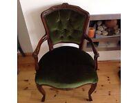 Set of Antique Vintage Louis Style Salon Chairs!!! 4x