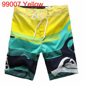 Quick Dry Fox Mens Surf Baord Shorts Boardshorts Beach Swim Pants 30 32 34 36 38