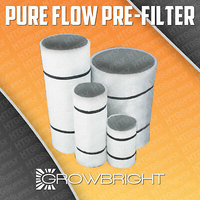 - Growbright Carbon Filter replacement pre-filters Pure Flow Air