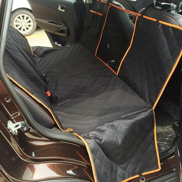Waterproof Dog Cat Pet Rest Car Seat Cover Hammock SUV Van Back Rear Bench Pad