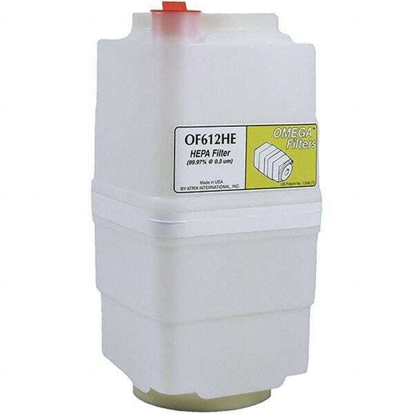 Atrix Omega HEPA Filter Cartridge 1 Gallon, HEPA (99.97% efficient @ .3 micro...