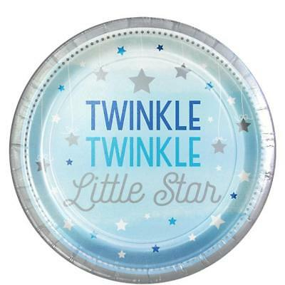 Twinkle Twinkle Little One (Twinkle Twinkle Little Star One Little Star Boy Party Supplies Large)