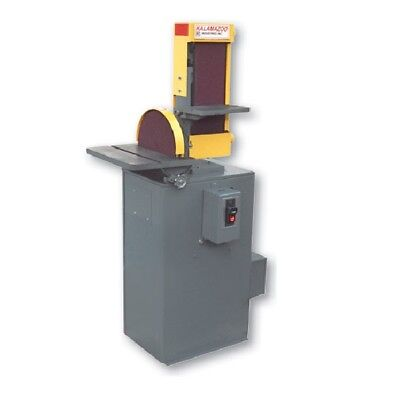 Kalamazoo Industries 6 Belt12 Disc Combination Sander With Vacuum Base S6...