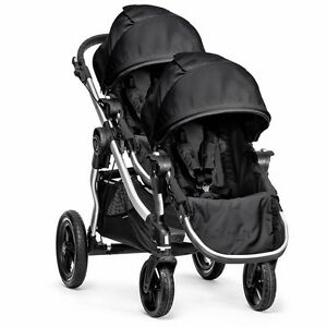 City Select Baby Jogger Double Stroller Onyx