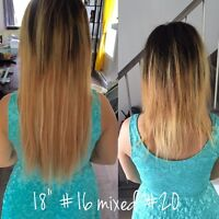 RALLONGES HAIR EXTENSIONS 180$ KERATINE