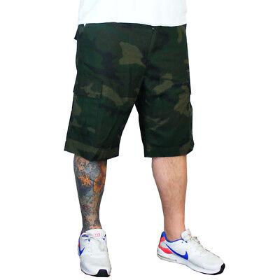 Carhartt Camo Hose (Carhartt WIP Regular Cargo Short Army Herren Festival Hose Camo Combat Green)