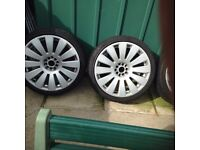 Vw/audi 19 inch alloys