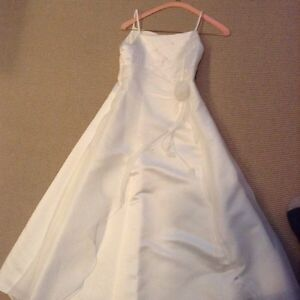 Two flower girl or party dresses
