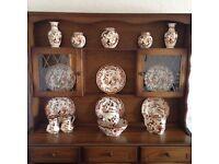 Masons ironstone brown velvet