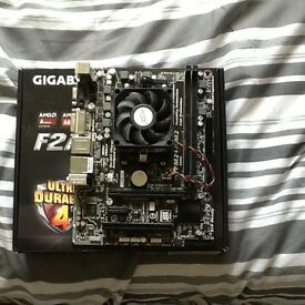 AMD Processor and Motherboard