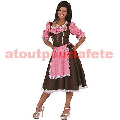 Déguisement de Tyrolienne,Bavarooise - Kostüm Tyrolienne