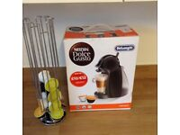 Delongi coffee maker Complete with Dolce Gusto pod holder