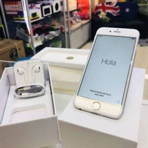AS NEW IPHONE 6 16GB SILVER UNLOCKED WARRANTY Surfers Paradise Gold Coast City Preview
